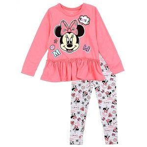Minnie Mouse Toddler Girls 2-Piece Legging Set